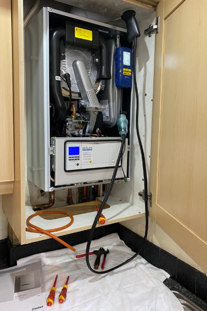 Annual Boiler Servicing by GAS SAFE® registered heating engineers