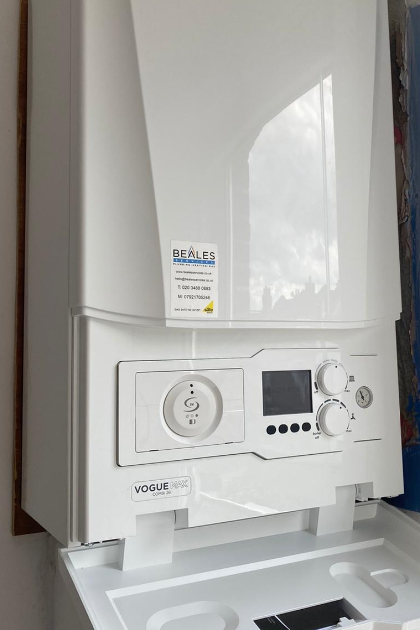 We are Ideal MAX Installers so are able to offer a fantastic extended 12 year manufacturer's warranty on this Ideal Vogue boiler, for total peace of mind.
