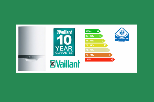 We install Vaillant Boilers
