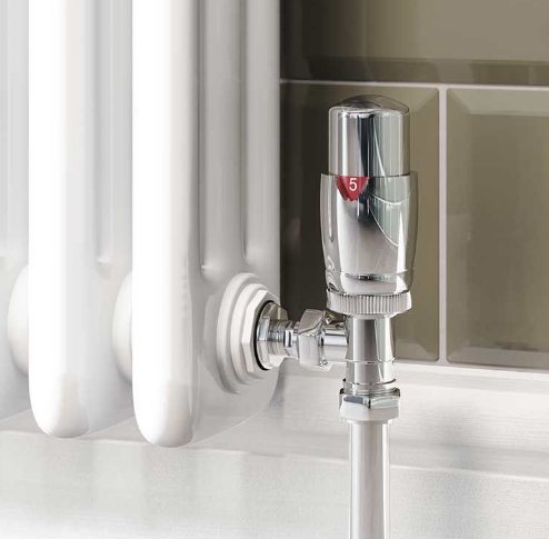Adding thermostatic radiator valves will keep you cosy whilst saving money.