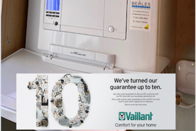 We are Vaillant Advance Master Tech installers and can offer extended manufacturer's warranties